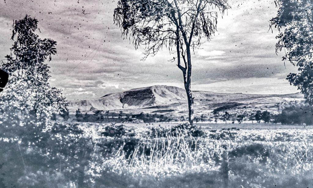 Menegai Crater, Nakuru, Kenya, viewed from my front yard.